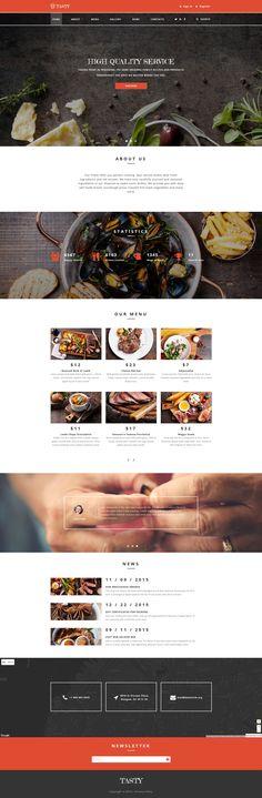 Cafe and Restaurant Responsive Website Template #58809 http://www.templatemonster.com/website-templates/cafe-and-restaurant-responsive-website-template-58809.html