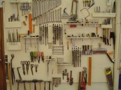 tool walls | well organized and clean shop is important.