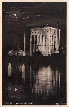 """Wrocław - Wieża ciśnień """"Na Grobli"""" (1935-1942)"""