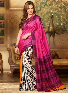 Esha Deol Art Silk #Saree