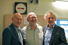 Patrick Stewart supports public radio Witty and clever Who knew he could be so funny!