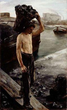 Le coltineur de charbon - Henri Gervex 1882
