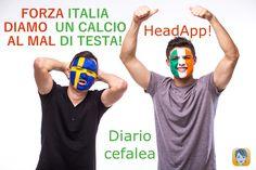 HeadApp! vs Mal di testa 1-0  Italia vs Svezia ?-?