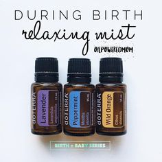 "Kicking off this #eobirthandbabies series with labor sprays! These are so incredibly effective that the nurses told my mom to keep doing whatever she was doing for my sister-in-law. (P.S. I love that dōTERRA diffusers and oils are now standard issue in our L&D!! When my mom asked if she was allowed to use oils in the delivery room, the nurse replied ""Only if they are dōTERRA!"" ) Our first blend is for calming and relaxing mama during the active phase of labor.  20 drops Lavender 15 drops ..."