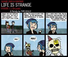 LIFE IS STRANGE | Age-aholic by TheGouldenWay.deviantart.com on @DeviantArt
