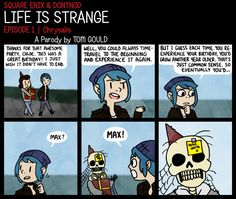 LIFE IS STRANGE | Age-aholic by TheGouldenWay on DeviantArt