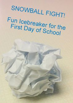 Fun Non-Embarrassing Ice Breakers for High School & Middle School Students EVER. lustig Fun Non-Embarrassing Ice Breakers for High School & Middle School Students EVER. Middle School Icebreakers, Classroom Icebreakers, Science Classroom, Classroom Ideas, Art Classroom, Classroom Layout, High School Activities, First Day Of School Activities, Icebreaker Activities