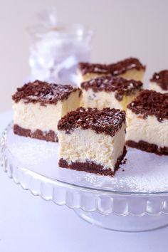 Polish Desserts, Polish Recipes, Cookie Desserts, Polish Food, Polish Cheesecake Recipe, Cheesecake Recipes, Sweets Recipes, Cooking Recipes, Good Food