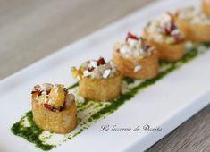 Le leccornie di Danita: Finger food: calamarata croccante con tartare di pesce spada
