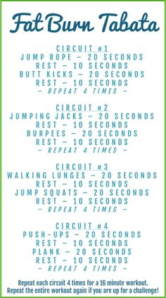 Fat Burning Tabata Workout - Lose Belly Fat in a Week Cardio Fitness Workouts, Gewichtsverlust Motivation, Fitness Logo, Fitness Diet, Health Fitness, Leg Workouts, Best Hiit Workouts Fat Burning, Boot Camp Workout, Tabata Workouts Crossfit