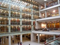 La bibliothèque William Oxley Thompson Memorial, Ohio, Etats-Unis © Creative commons