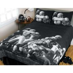 NFL Football Bedding - Play Action Quilt Set by Sports Coverage