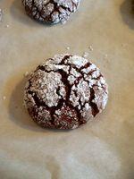Great simple (vegan) chocolate crinkle cookie recipe!