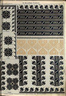 Folk Embroidery, Embroidery Fashion, Beaded Embroidery, Cross Stitch Embroidery, Embroidery Patterns, Cross Stitch Charts, Cross Stitch Patterns, Palestinian Embroidery, Crochet Fall