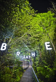 Austria Milan expo pavilion.  Entitled Breathe, the Austrian pavilion was designed to highlight the importance of oxygen and cooling air to the environment, as well as to promote the country's approach to managing sustainable forests.