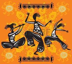 schamane: Tanzende Figuren