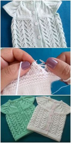 There are many types of Satin stitch.In Bangla language Satin stitch is called Vhorat Salai.Here I have shown 2 types of Satin stitch. Diy Crafts Knitting, Diy Crafts Crochet, Easy Knitting Patterns, Knitting For Kids, Knitting Designs, Baby Knitting, Crochet Baby, Knitting Tutorials, Baby Pullover Muster