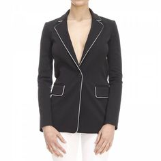Jackets Woman Pinko Blazers For Women, Jackets For Women, Clothes For Women, Sporty Chic Style, Skinny Pants, Joggers, Active Wear, Couture, Woman