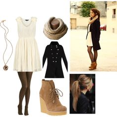 Winter Outfit By Kristie Broadway On Polyvore Y Outfits Simple