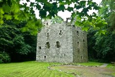 Castle Sorbie, the home of my ancestors who were in the height of their power in 1540's Scotland.