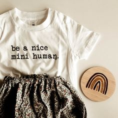 Such a cute little outfit for a mini human! Crop Tops, Black And White, Mini, Cute, Outfits, Clothes, Collection, Women, Fashion