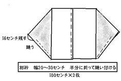 簡単モモンガコート☆   ナデシコキモノセイカツ - 楽天ブログ