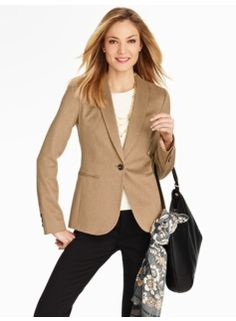 Luxe Camel Hair Jacket