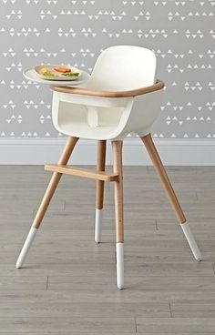 Featuring an elegantly designed seat lofted on beechwood legs, the Ovo Max Luxe High Chair has a modern style that will match even the most sophisticated interiors. Best of all, its feet are removable, allowing for conversion into a play chair or desk chair once your little one starts to grow bigger. Add the Ovo high chair cover to keep baby extra comfy and secure during meals.