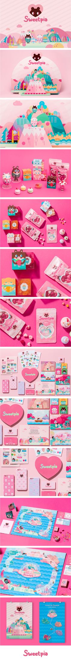 Sweetpia - Sweetpia is a jelly branding to inform endangered animals for children. We want the world to become warmer and sweeter. Branding / Packaging / Character Design