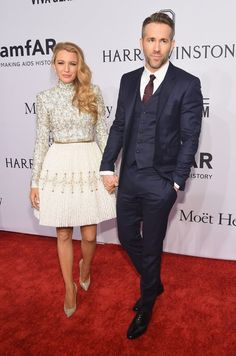 Pin for Later: Blake Lively and Ryan Reynolds Enjoy a Glamorous Night Out at the amfAR Gala