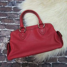 Ravishing Red! Marc Jacobs satchel for only $68!!! .  .  Get ready for frighteningly good savings!  Save at least 13% when you shop Friday the 13th!  .  .  Gotta have it? We do phone orders! Call: 610-455-1500 or  Shop: 1369 Wilmington Pike Hours: Mon- Sat: 10-8 Sun: 12-6  We ship and deliver free to our sister stores: Springfield & East Norriton. We Ship to Your Home!  #smallbiz #shopsmall
