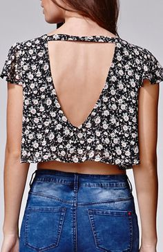 Lucca Couture Cropped Top at PacSun.com