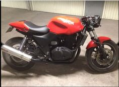 Customy CB500 seen on YouTube