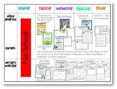 Penguin week visual plans! TONS for reading and writing using Tacky the Penguin and non-fiction!