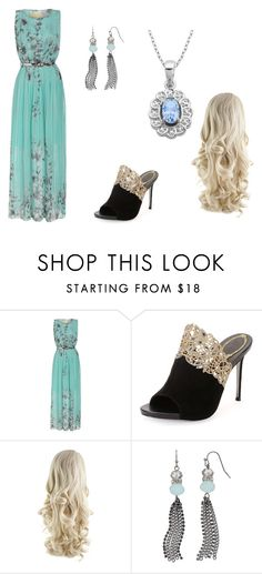 """""""Untitled #260"""" by jordanbond55 ❤ liked on Polyvore featuring beauty, René Caovilla, Simply Vera and Lord & Taylor"""