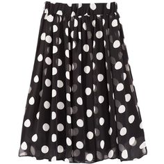 Trois de Boulogne Skirt Dot ($98) ❤ liked on Polyvore featuring skirts, bottoms, saias, dot skirt, beach skirt, party skirts, polka dot skirts and layered skirt