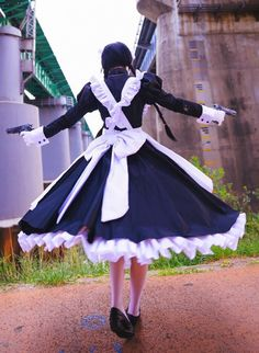 Maid Cosplay, Cosplay Outfits, Best Cosplay, Cosplay Girls, Butler Outfit, Fantasias Halloween, Maid Uniform, Black Lagoon, Action Poses