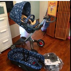 Loving my new Stokke cover from BAJAJA team!!! So excited for our little man to get here!!!!
