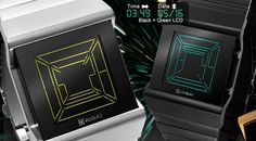 Space Digits Tokyoflash. Other geeky watches
