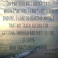 rough days- story of my life today
