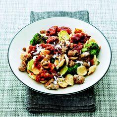 Mario Batali's Orecchiette with Sweet Sausage and Broccoli