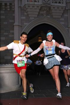 Easy Cinderella  Prince Charming Running Costumes