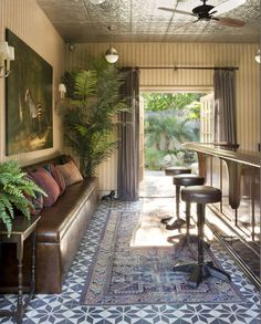 Backyard Bistro | Schuyler Samperton Interior Design