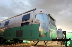 I really like this argosy rv restoration this woman and her father are working on. Nice use of diamond plate steel.
