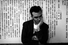 """""""I rate Morrissey (Steven Patrick Morrissey) as one of the best lyricists in Britain. For me, he`s up there with Bryan Ferry."""" ― David Bowie this morning's playlist 🎶… a mixture of moz, bowie and the smiths. The Smiths Morrissey, Cult Of Personality, Johnny Marr, Martin Gore, Black And White Frames, Black White, Charming Man, Be A Nice Human, Phobias"""