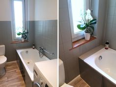 Corner Bathtub, Alcove, Bathroom, Apartment Bathroom Design, Washroom, Corner Tub, Bathrooms, Downstairs Bathroom, Bath Mat