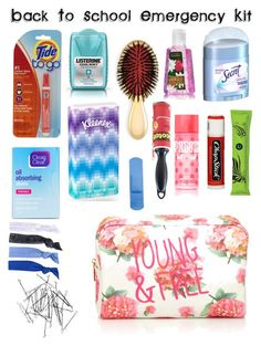 """Back To School Emergency Kit"" by gauxfashion on Polyvore"