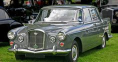 """1959 Wolseley (Farina Styled) with Straight Six cylinder BMC """"C"""" Series OHC Engine Classic Cars British, British Car, Vintage Cars, Antique Cars, Austin Cars, Old Lorries, Cars Uk, Classy Cars, Old Cars"""