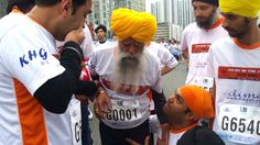 No excuses! This is someone to look up to. Oldest marathoner in the world.