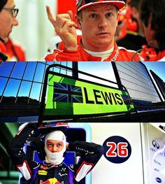 Jerez 2015  kimi, lewis,